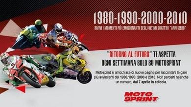 Ritorno al futuro: le emozioni del 1980, 1990, 2000 e 2010 su Motosprint