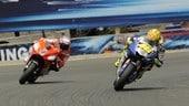 """Rossi: """"Laguna Seca 2008, una battaglia iconica con Stoner"""""""
