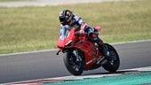 Test Misano: Zarco in sella alla Ducati Panigale V4 - FOTO