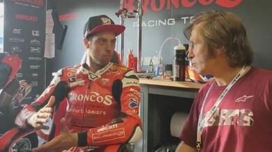 """Zanetti: """"La Ducati V4 la sento un po' come la mia bimba"""""""