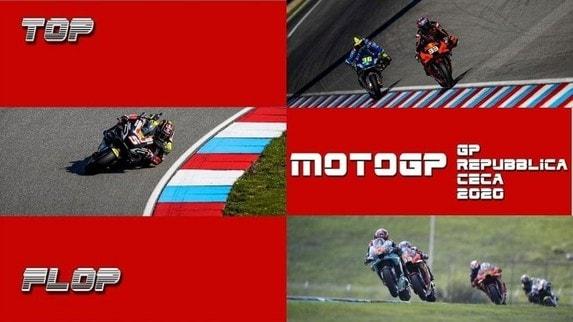 MotoGP: i Top&Flop del GP della Repubblica Ceca - VIDEO