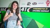"""CIV: Arianna Barale nel paddock adue mesi dall'incidente: """"Tornerò più forte!"""""""
