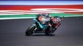 MotoGP, FP1 GP Emilia Romagna: Quartararo in vetta. Rossi e Vinales fuori dalla Top 10