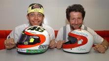 MotoGP, i caschi più belli di Rossi - LE FOTO