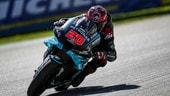 MotoGP Barcellona, FP3: Yamaha velocissime, Quartararo su tutti