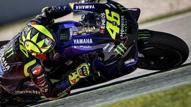 """MotoGP, Rossi: """"Oggi ero da podio, bisognava finirla la gara"""""""