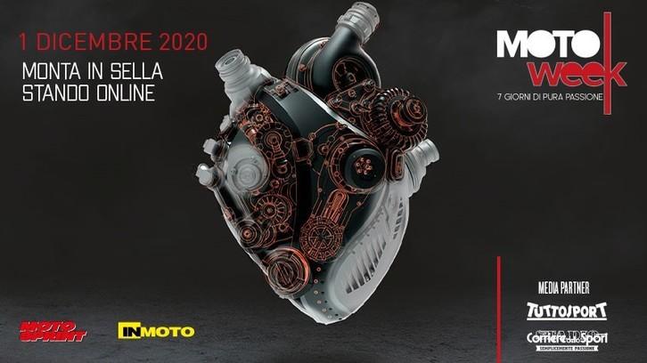 MotoWeek, la passione batte in digitale. Iscrizioni aperte!