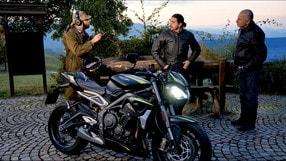Motosprint The Test di Riccardo Piergentili: Triumph Street Triple RS