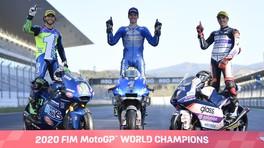 MotoGP: tutti i premiati della stagione 2020 - FOTO