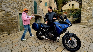 Motosprint The Test di Riccardo Piergentili: Yamaha Tracer 700