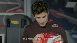 """MotoGP, Marc Marquez pronto per il 2021: """"Ecco il casco che indosserò"""""""