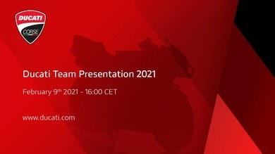 MotoGP, presentazione ufficiale Ducati Team il 9 febbraio