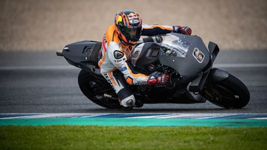MotoGP: a Jerez primi giri per la Honda 2021