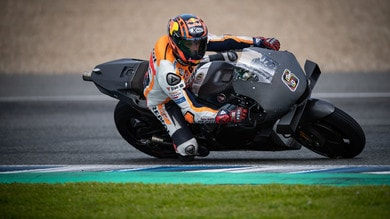 MotoGP: first laps for the 2021 Honda at Jerez