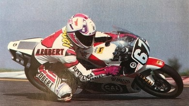 """Max Biaggi recalls: """"In 1990 my first ride with the 125 GP"""""""