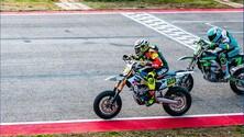 MotoGP: Iannone in pista con il Supermotard - FOTO