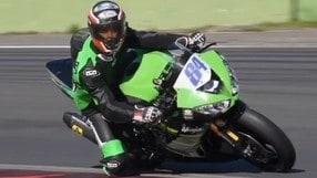 SSP600: Michel Fabrizio in azione a Vallelunga