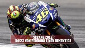 MotoGP Rossi non perdona Marquez per il GP di Malesia 2015