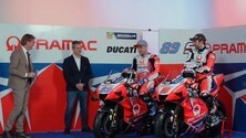 MotoGP, il Team Ducati Pramac presenta la squadra 2021