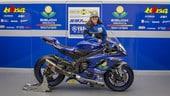 La SSP600 si tinge di rosa: Maria Herrera in pista con il team Motoxracing