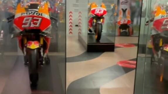MotoGP: Marc Marquez mostre le sue Honda