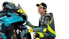 MotoGP: Valentino Rossi e la sua M1 con i colori del team Petronas
