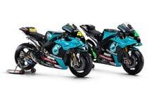 MotoGP: Petronas Yamaha unveils Rossi and Morbidelli's 2021 M1 bikes