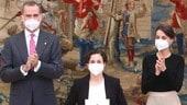 SSP, la Carrasco come Fogarty e Rea: Ana premiata dal Re