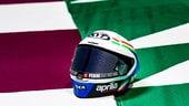 MotoGP Qatar: il casco replica di Savadori per Fausto Gresini
