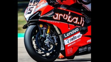 Test SBK: il team Aruba Ducati pensa (pure) al Flag to Flag