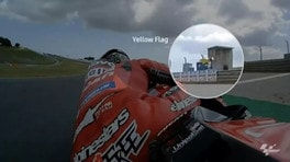 """Qualifiche MotoGP Portogallo, Tardozzi: """"Impossibile vedere i pannelli"""""""