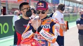 """MotoGP, Marquez in lacrime dopo la gara: """"Non dolore ma liberazione"""""""