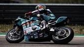 Test SBK: solo la MotoGP di Pedrosa meglio della Ducati di Davies