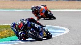 Moto2, Bezzecchi: primo podio a Jerez, ma serve di più