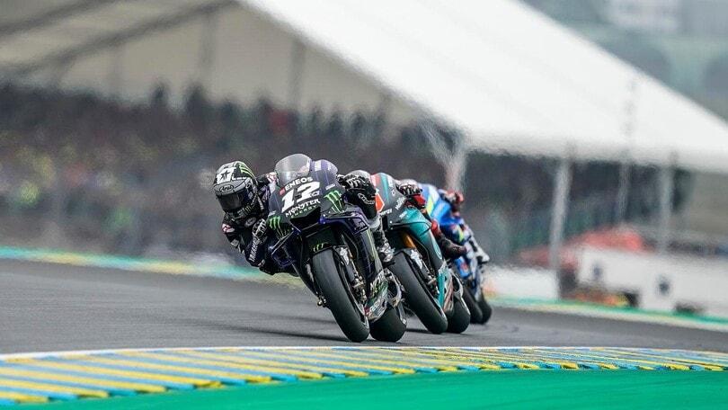 MotoGP orari TV GP Francia: in diretta su SKY e DAZN e differita su TV8