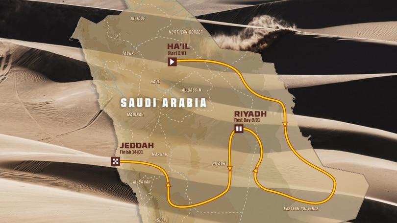 Presentata la Dakar 2022: tanta sabbia e un occhio al futuro
