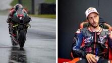 MotoGP: Dovizioso in pista con Aprilia al Mugello
