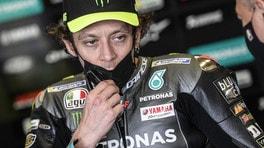"""MotoGP Francia, Valentino Rossi: """"Michelin deve lavorare sull'anteriore"""""""