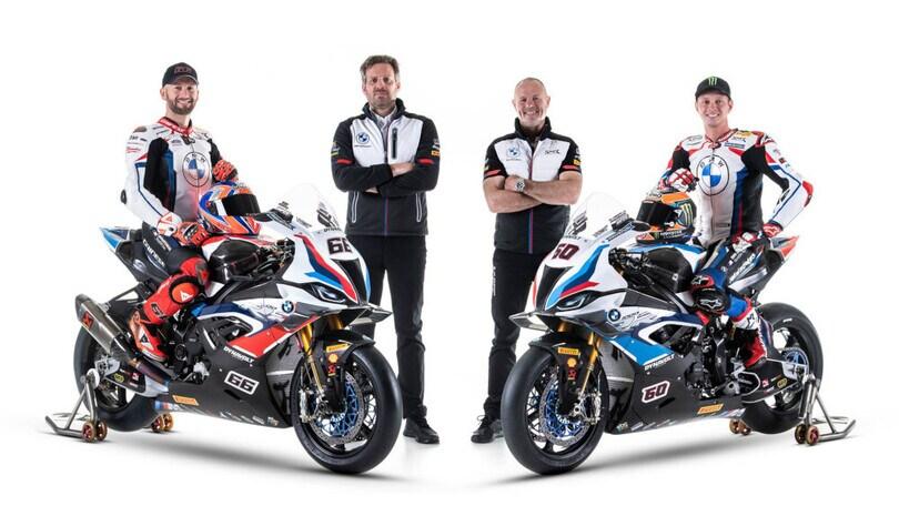 SBK 2021: quattro piloti alla corte BMW