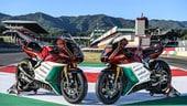 Moto2: Forward celebra l'MV Agusta Superveloce