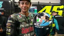 MotoGP Italia: Il casco speciale di Valentino Rossi per il.. Muuugello