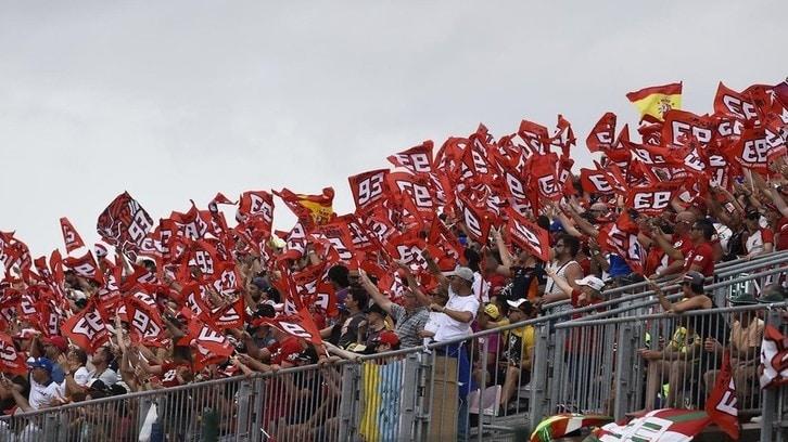 MotoGP, towards normality: 20,000 people at the Aragón GP