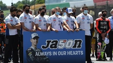 Moto3: il 50 di Dupasquier verrà ritirato al Sachsenring