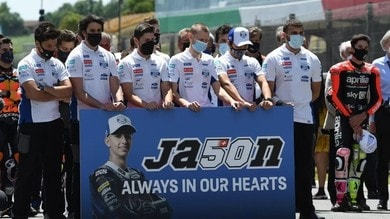 Moto3: Dupasquier's number 50 will be withdrawn at the Sachsenring