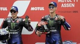MotoGP Olanda: Quartararo risponde a Vinales e fa quaterna