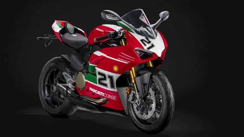 Ducati: ecco la Panigale V2 Troy Bayliss 1st Championship 20th Anniversary
