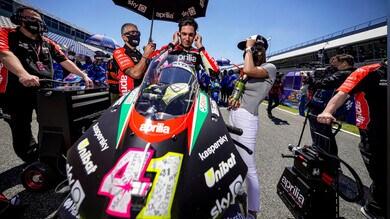 """MotoGP, Aleix Espargaro: """"Adesso voglio il podio"""""""