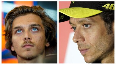 MotoGP, Rossi-Marini insieme: Luca sogna Valentino nel box