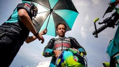 """MotoGP, Valentino Rossi fa il punto: """"Vogliamo di più"""""""