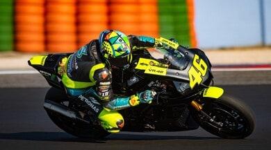 MotoGP, allenamento speciale per Valentino Rossi a Misano